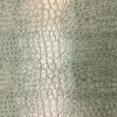 """Teal Reptile Faux Leather 