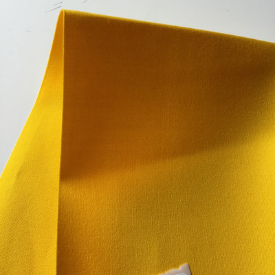 2.66 Yard Piece of Sunbrella 6157-0000 Yellow | 60 Inch | Awning and Marine Weight |