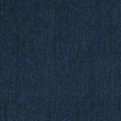 1.55 Yard Piece of Blue-Gray Cotton Velvet Upholstery Fabric Briar Velvet Atlantic
