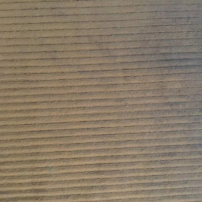 2.05 Yard Piece of Chocolate Brown Corduroy Striped Upholstery Fabric | 54 Wide | BTY | Super Soft