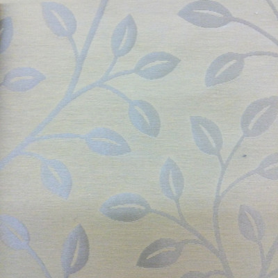"""Contemporary Leaves in Two-Toned Tan   Drapery / Slipcover Fabric   54"""" Wide   By the Yard"""