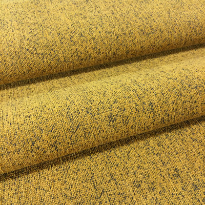 """Mottled Orange Gold wit Black   Microfiber Upholstery Fabric   54"""" Wide   By the Yard"""