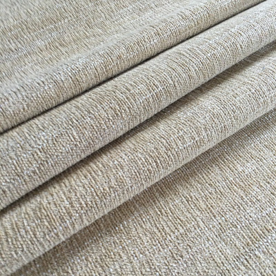 """Chenille Tan Slub Weave 