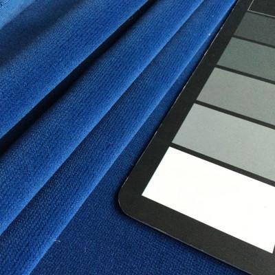 """Ocean Blue Velvet   Heavy Velvet Upholstery Fabric   54"""" Wide   By the Yard"""