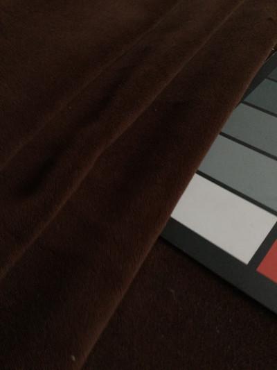 "Chocolate Brown Soft Velvet | Heavy Velvet Upholstery Fabric | 54"" Wide | By the Yard"
