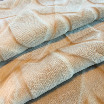 """Plush Velvet Arrows in Beige 