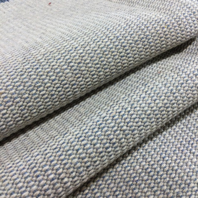 French Blue/Khaki Two Tone Textured Upholstery Fabric | Furniture | Home Dec | Cushions | By The Yard | 54 inch Wide