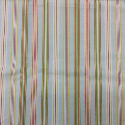 2.5 Yard Piece of Vintage Pastel Stripes | Upholstery / Slipcover Fabric | 54 Wide | By the Yard