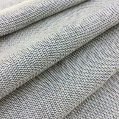 """Blue / Gray Pebbled Weave   Upholstery / Heavy Drapery Fabric   54"""" Wide   By the Yard   Ultra Durable"""