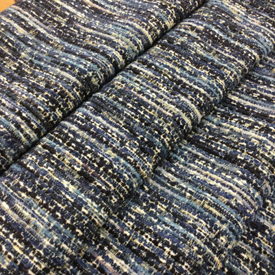 """Variegated Blues with White 