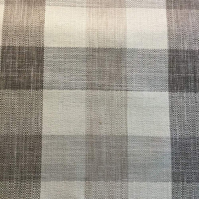 3.8 Yard Piece of Neutral Buffalo Plaid Beige / Brown   Upholstery Fabric   54W (Same as JAQ-1003)