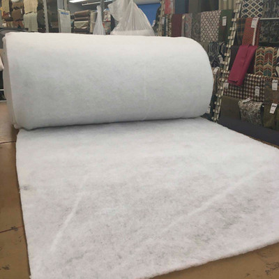 """Image for Bonded Polyester Dacron Upholstery Batting 55""""W    1,3,5,10,20 Yard Rolls At Fabric Warehouse"""
