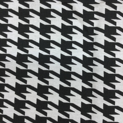 """Black and White Houndstooth 