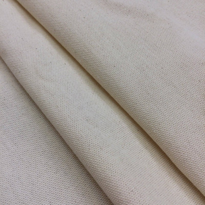 """Natural Cotton Canvas Fabric 