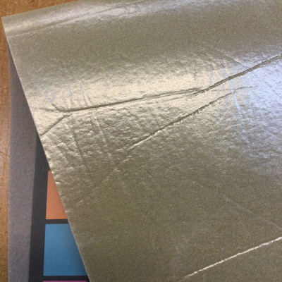 """Grey Automotive Headliner - Laminated Foam-Backed 