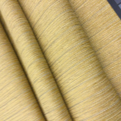"""Stillwater in color Bamboo   Golden Yellow Subtle Stripes   Upholstery / Drapery Fabric    54"""" Wide   By the Yard   Durable"""