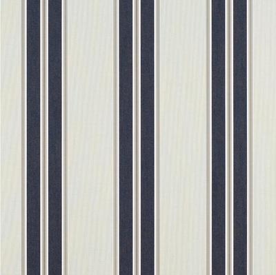 Sunbrella 4916-0000 Sunbrella Shade - Navy/Taupe Fancy   46 Inch wide   AWNING AND MARINE Fabric  