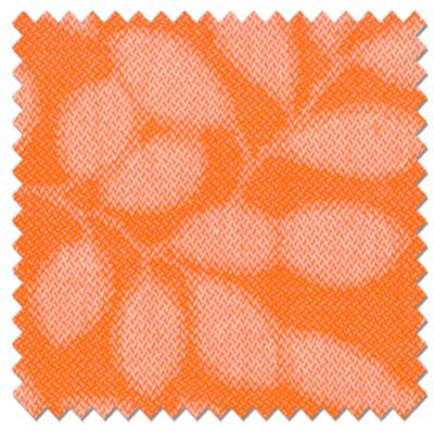 Magenta Orange Pattern  60 Inch Furniture Weight (GARDEN)   Indoor / Outdoor Upholstery Fabric