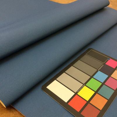 "Ocean Blue Weave Textured Vinyl Headliner - Foam-Backed | 3/16"" Thick | 54"" Wide | Bag Stabilizer / Sew Foam | By the Yard"
