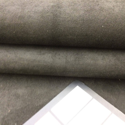 """Charcoal Black Faux Suede Automotive Headliner   Foam-Backed   1/8"""" Thick   54"""" Wide   Bag Stabilizer / Sew Foam   By the Yard"""