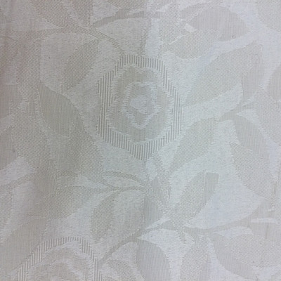 """Floral Brocade in Ivory Off-White 