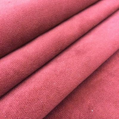 "Elegant Burgundy Red Plush Velvet   Upholstery Fabric    54"" Wide   By the Yard   Durable"