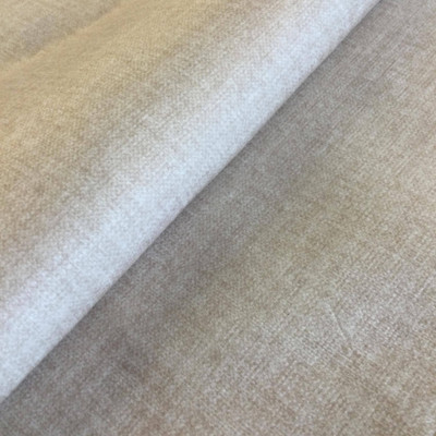 """Chrome in Sand   Mottled Off-White Microfiber   Upholstery Fabric   Regal Fabrics Brand   54"""" Wide   By the Yard"""