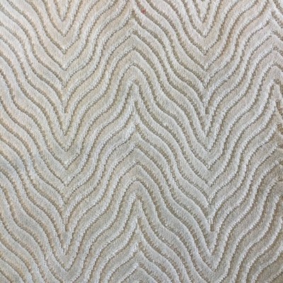 """Andre in Spa   Spa Blue Wavy Chevron Microfiber   Upholstery Fabric   Regal Fabrics Brand   54"""" Wide   By the Yard"""