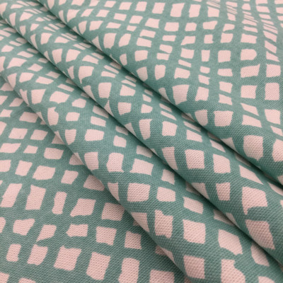 """Sea Grid in Turquoise 