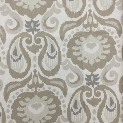 """Grand Ikat in Linen 