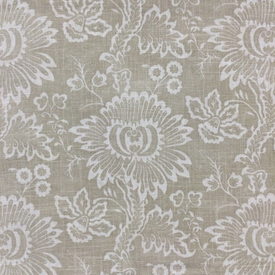 """Tabriz in Oatmeal   Two Tone Floral in Beige   Upholstery / Drapery Fabric   P/Kaufmann   54"""" Wide   By the Yard"""