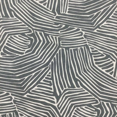 """Doba in Charcoal   Abstract in Grey and White   Upholstery / Drapery Fabric   Robert Allen   54"""" Wide   By the Yard"""