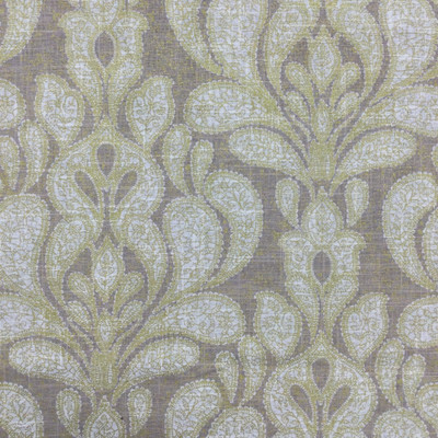 """Trousseau in Dove   Paisley Damask in Gold / Taupe   Linen Upholstery / Drapery Fabric   Richloom   54"""" Wide   By the Yard"""