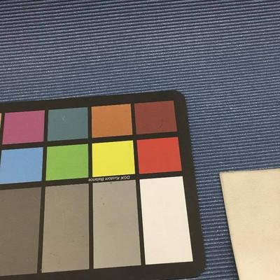 "Slate Blue Faux Grosgrain Weave Vinyl Upholstery Fabric By The Yard 54""W"