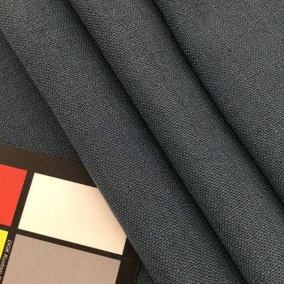 "Sensu in Denim | Solid Dark Blue | Linen Like Fabric | Slipcovers / Drapery / Upholstery | 54"" Wide | By the Yard"