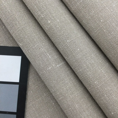 """Alero in Aluminum   Flecked Taupe   Linen Like Fabric   Slipcovers / Upholstery   Richloom   54"""" Wide   By the Yard"""