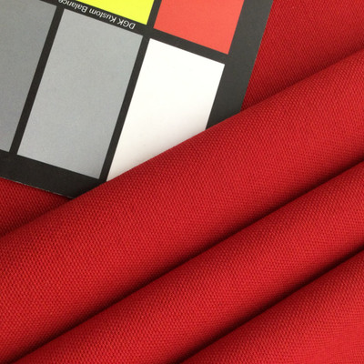 """Apple Red Cotton Canvas    10 oz. Canvas / Cotton Duck Fabric   Bedding / Slipcovers / Bags   62"""" Wide   By the Yard"""