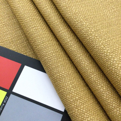 """Golden Yellow Slub Weave 
