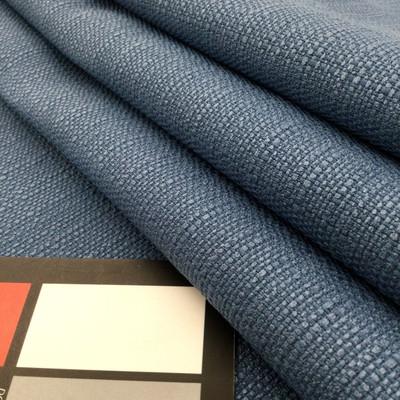 "Slub Weave in Ocean Blue | Heavyweight Upholstery Fabric | 54"" Wide | By the Yard"