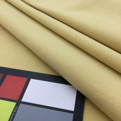 """Straw Yellow Cotton Canvas    10 oz. Canvas / Cotton Duck Fabric   Bedding / Slipcovers / Bags   62"""" Wide   By the Yard"""