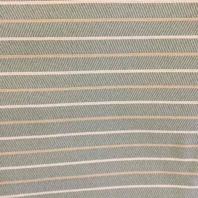 Light Blue-Green Herringbone Pinstripe Upholstery Fabric | Extra Heavy Weight