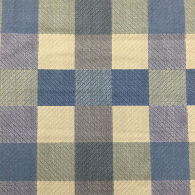 """Buffalo Plaid in Shades of Blue 