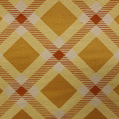 Yellow Diamond Modern Design Upholstery Fabric.