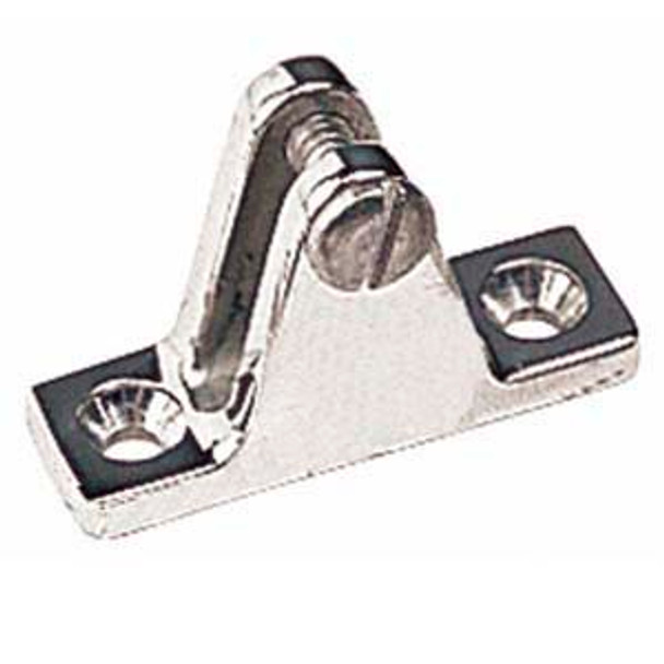 Image for Vicar Stainless Steel Angled Deck Hinge with Bolt 66-35 At Fabric Warehouse
