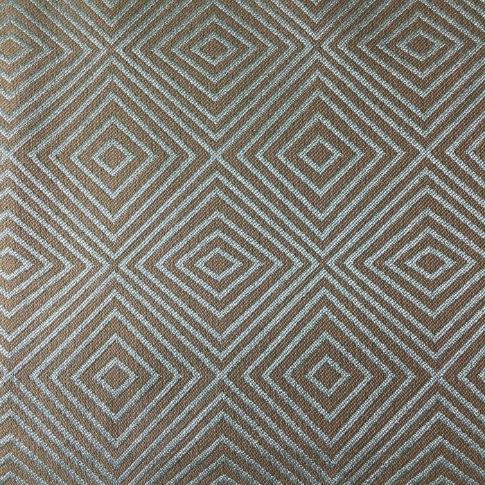 "Diamond Grid Green / Blue | Upholstery Fabric | 54"" Wide 