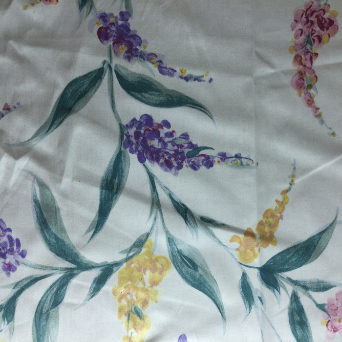 """Butterfly Garden Purple / Green / Yellow 