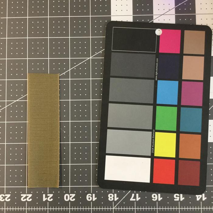 "1.5"" Velcro Brand HOOK   Tan   Sew-on Fastener  "