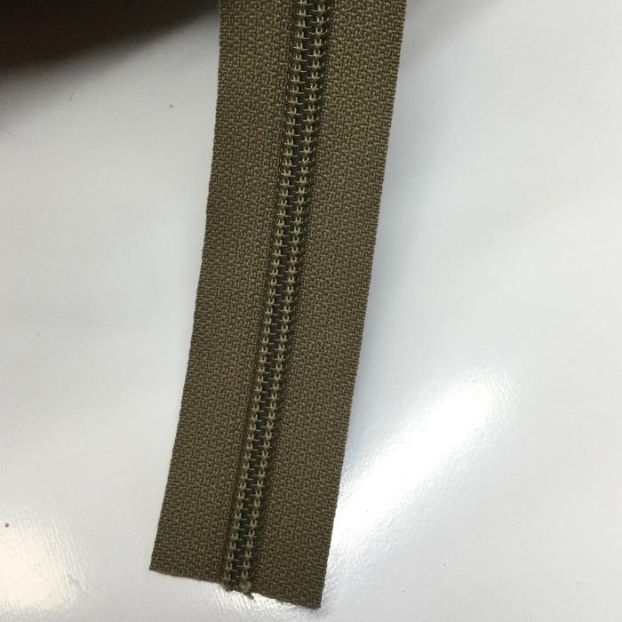 #5 Tan Nylon Coil Zipper | By the Yard | YKK Brand | For Bags / Backpacks