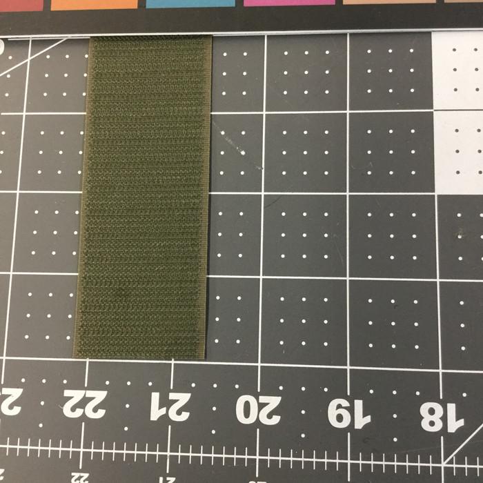 """1.5"""" Velcro Brand HOOK   Ranger Green   Sew-on Fastener"""