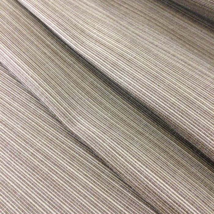 """5.8 Yard Piece of Indoor / Outdoor Upholstery Fabric   Two Toned Brown   54"""" Wide"""